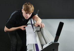 Cutting Foam Board on the Keencut Evolution3 SmartFold